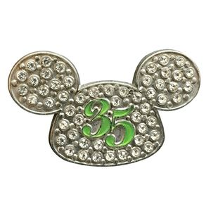 Mickey Mouse Ears 35 Anniversary Bling Pin
